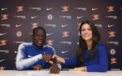 N'Golo Kante becomes