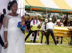 Photos from burial of the 88-Year-Old ex-Senator