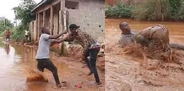 Image result for Nigerian Man fights his bestie for sleeping with his fiancée .(Photos)
