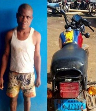 Man Rearrested For Stealing' 24hrs After  Release From prison