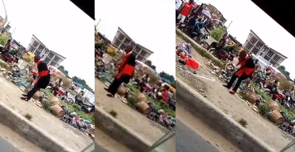 Image result for Man in trouble after snake he swallowed during magic stunt refused to come out in Lagos. (video)