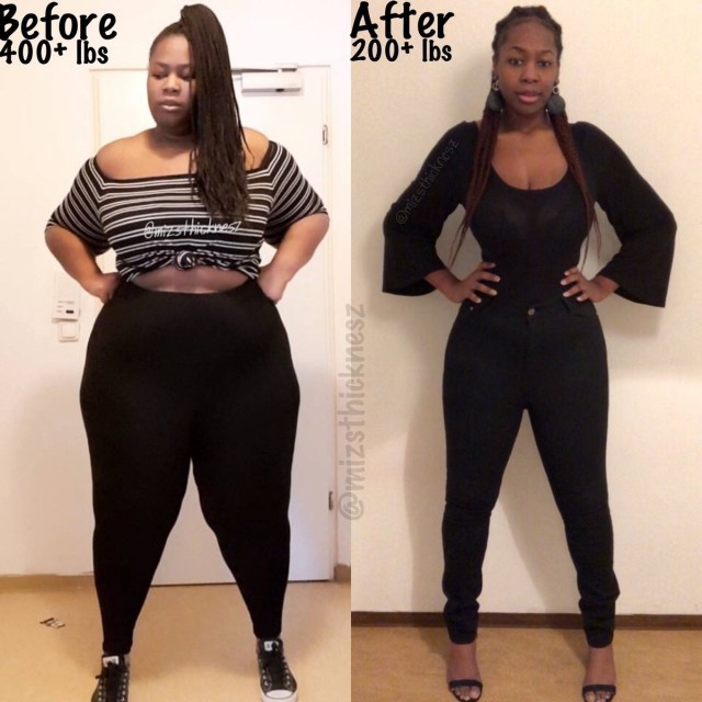 Nigerian lady gives up her big booty and boobs for a healthier life (Photo)
