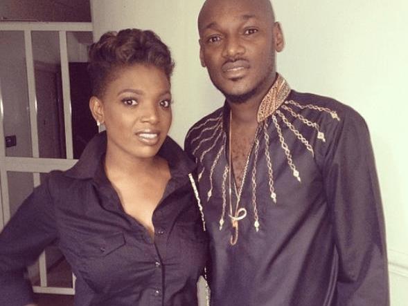 My head for don jogodo – 2Baba appreciates wife for advicing him