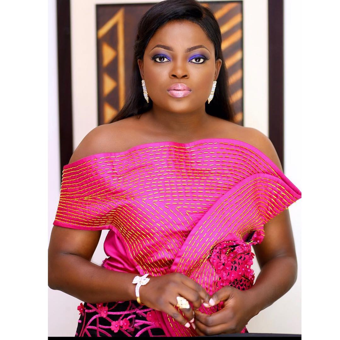 Funke Akindele welcomed twin boys
