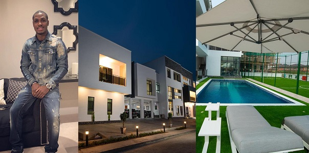 Image result for See the breathtaking interior at Odion Ighalo's new Multi-Million Naira Mansion in Lekki (Photos)
