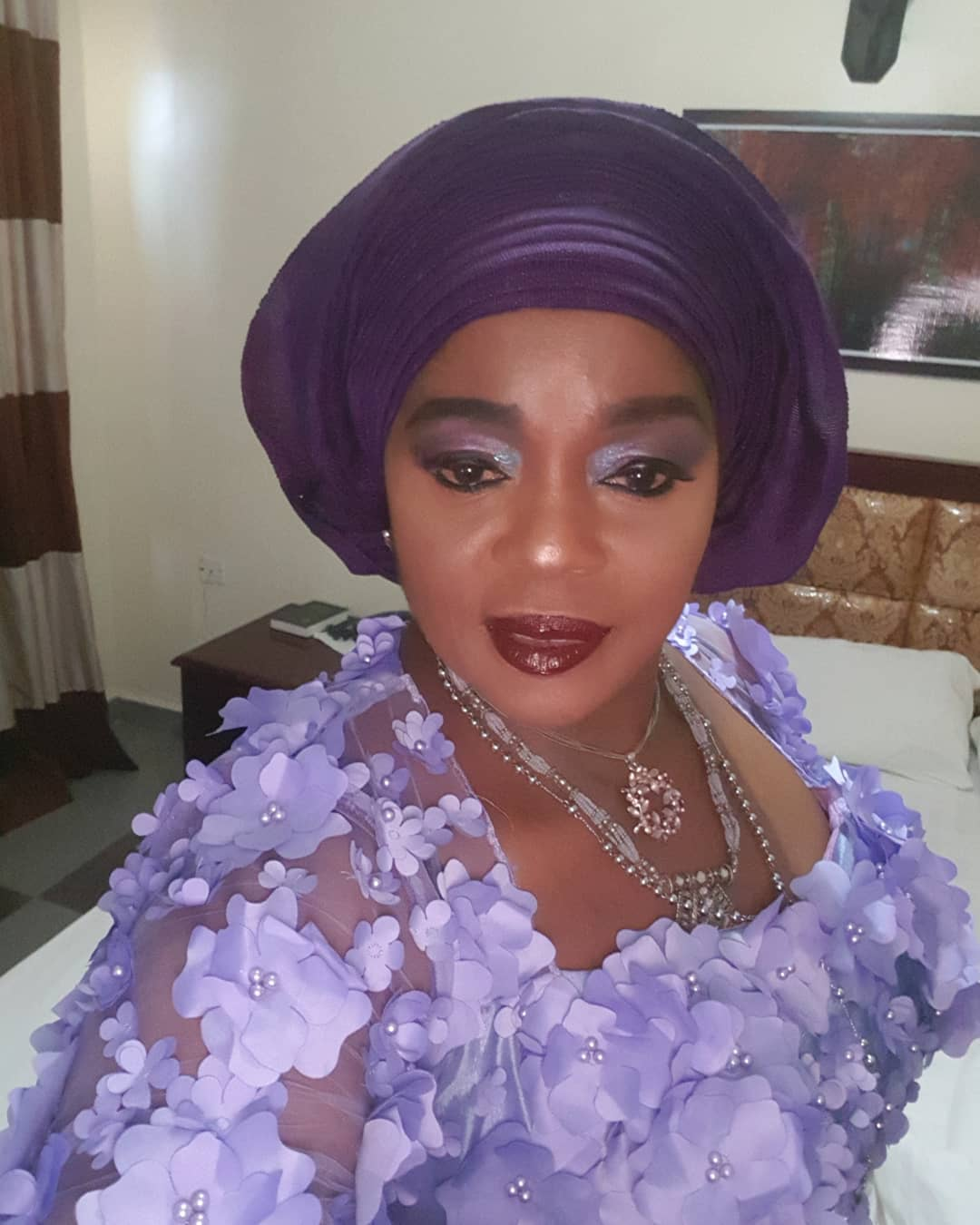 Rita Edochie Fires Back At Fans For Criticising Her Makeup