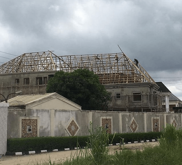 African China uncompleted2 - African China replies troll who asked him to stop showing off his house that is still under construction