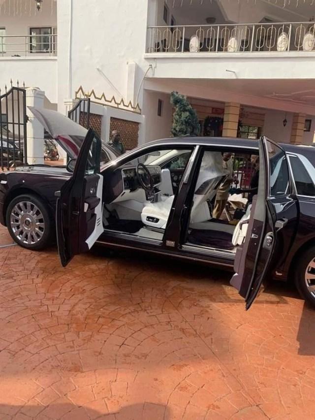 Arthur Eze buys 2019 Rolls Royce