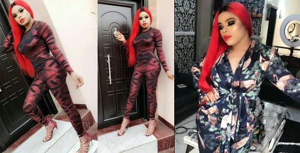 Image result for Bobrisky flaunts his growing curves in new photos