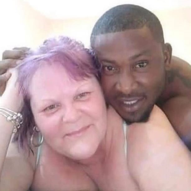 Nigerian Man Gush Over His Older White Lover Photos -7956
