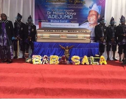 , Photos from the funeral of veteran actor, Baba Sala in Ibadan, No. 1 Information Arena