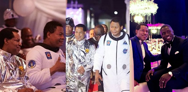 Image result for Photos From Pastor Chris Oyakhilome's 55th Astronaut-Themed Birthday Party