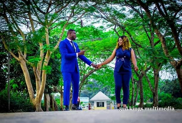 Nigerian Couple Set To Wed Share Throwback Photo Of Themselves From Secondary School(Photos)