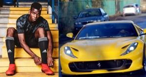 Paul Pogba Buys £250,000 Ferrari