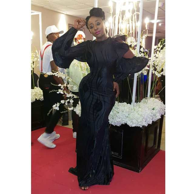 Ini Edo waist surgery trends on Instagram - See Reactions