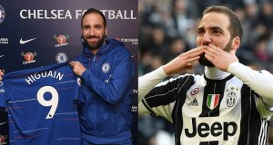 Gonzalo Higuain joins Chelsea on loan