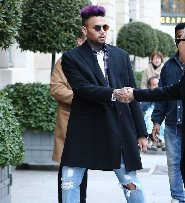 Chris Brown released