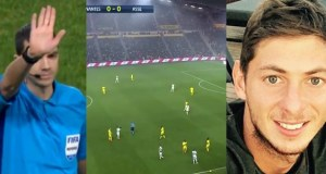 Nantes stop game to pay tribute to missing striker