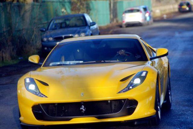Paul Pogba Buys Ferrari