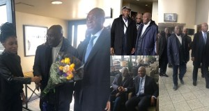 Atiku arrives United States
