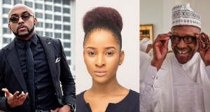 Bankys wife Adesua reacts