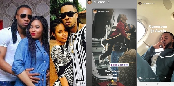 Image result for Flavour And Favourite Baby Mama Anna Banner Spend Time Together In Cameroon