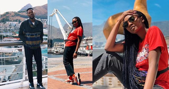 Simi & Adekunle Gold honeymoon in Cape Town (photos/Video) - YabaLeftOnline