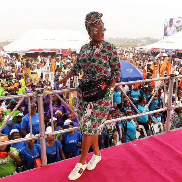 Ini Edo declares support