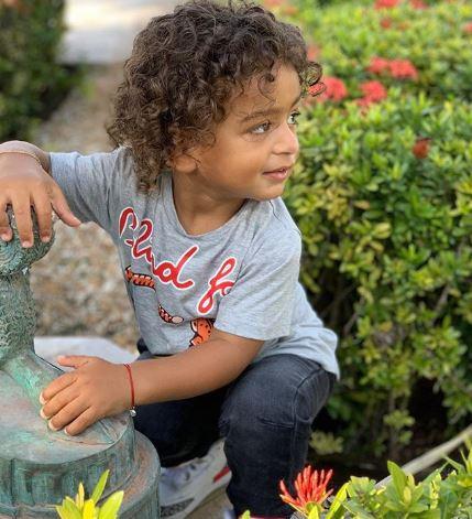 DJ Khaled's son Asahd