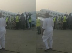 Nigerian Aircraft Overloaded