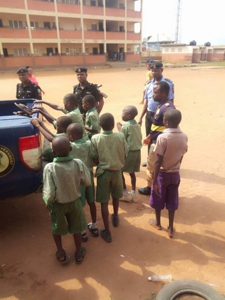See Primary School Pupils Initiated Into Cult Group In Lagos (Photo) 1
