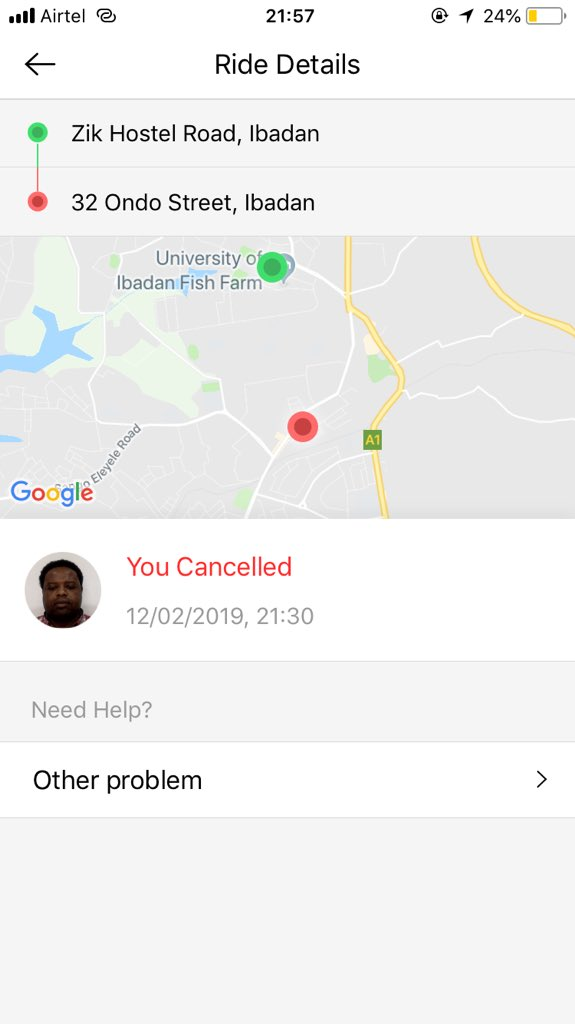 Taxify Driver Threatens To Beat Up A Lady For Cancelling A Ride (Screenshots)