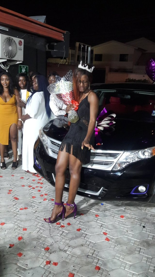 BBNaija Alex gets car gift from her Fans on her birthday