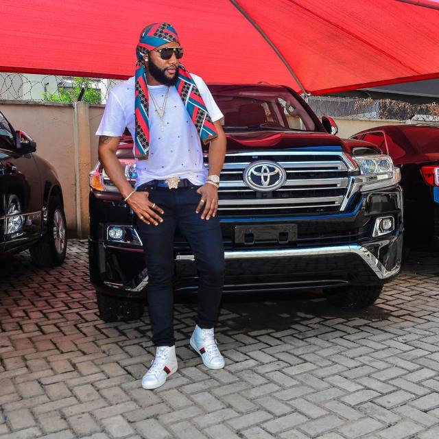Kcee flaunts new ride