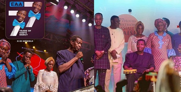 """Image result for """"The day God drank tea with me"""" – Pastor E.A Adeboye marks 77th birthday (photos)"""