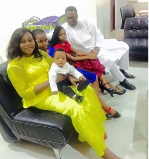 Nigerian man accuses his wife of 12 years of bringing another man's child into his house