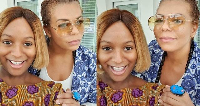 DJ Cuppy shares glowing photos with her beautiful mom Nana Otedola - YabaLeftOnline