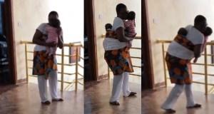 Funke Akindele Bello dancing