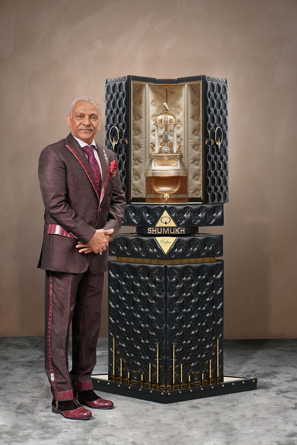 perf1 - World's Most Expensive Perfume Which Costs Ghc2.2 Million Unveiled In Dubai