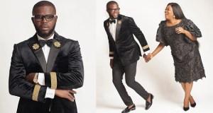 Funke Akindele celebrates JJC Skillz on his birthday