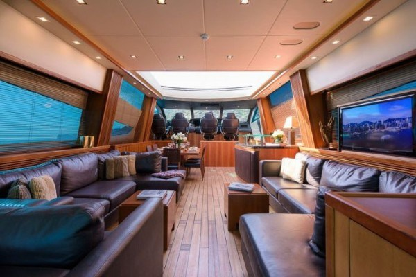 Aliko Dangote's ₦15.5billion luxury yacht