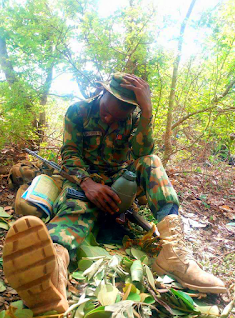 Nigerian lady rejects soldier's marriage
