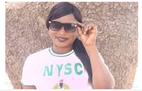 Female corps member collapses
