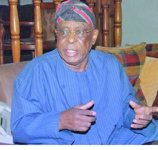 Breaking News –Osoba says Nigeria Needs To Struggle, Not Just Restructuring