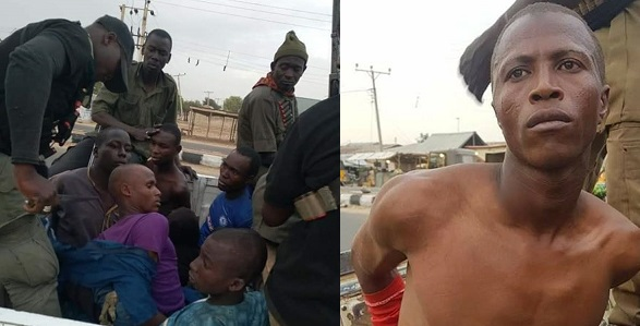 Image result for Acclaimed local hunter allegedly captures 13 Boko Haram terrorists alive, kill two in Borno, Adamawa (Photos)