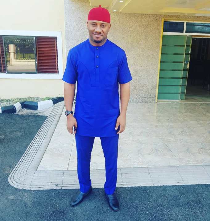 Nollywood Actor Yul Edochie Gives Life To Christ After Surviving A Ghastly Auto Crash