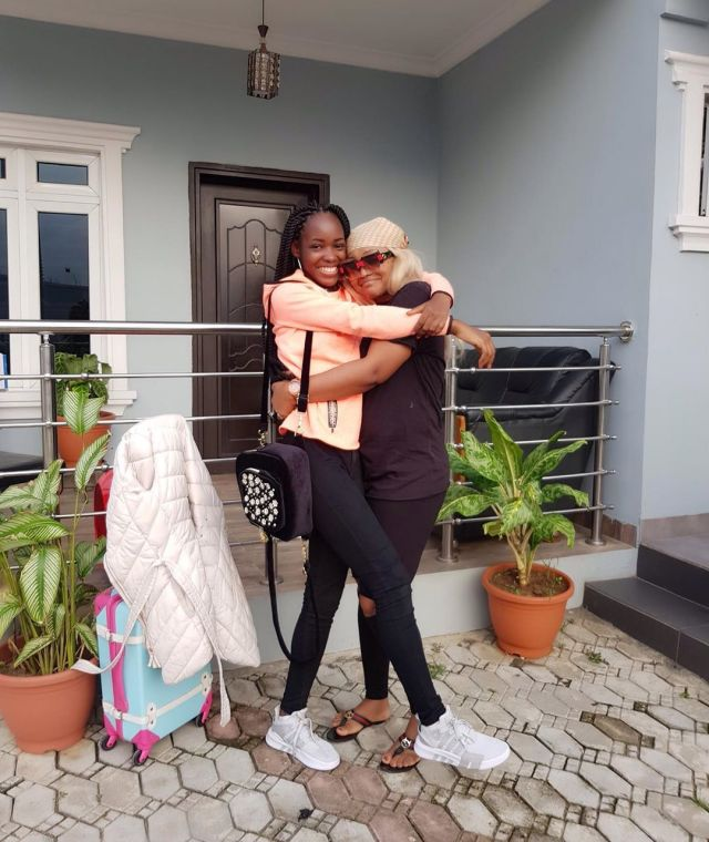 Mercy Aigbe threatens