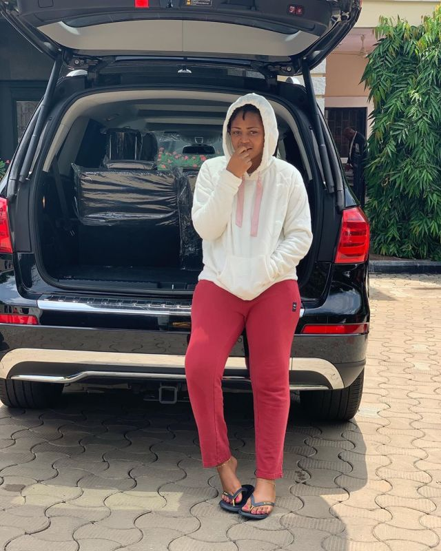 Regina Daniels steadily builds