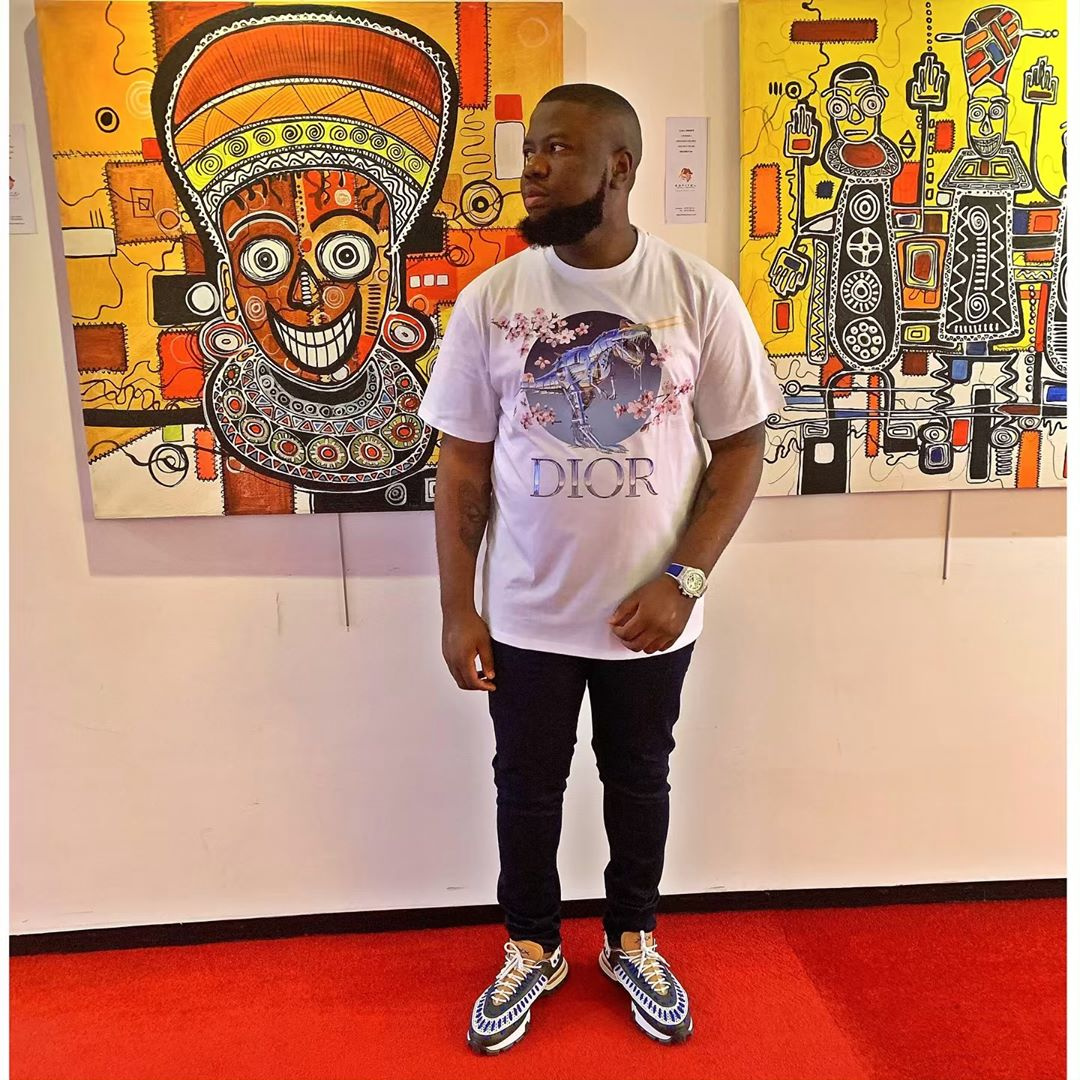 Nigerian big boy Hushpuppi reveals