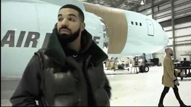 Drake acquires private jet